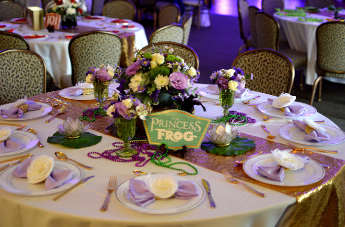 Princess Inspired Theme for Beautiful Mitzvah