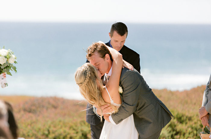 Beach wedding Sunny San Diego